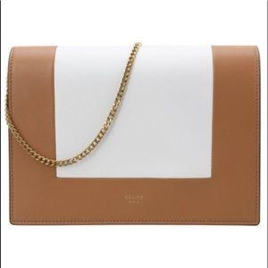 Céline frame evening bag with chain! Dust bag